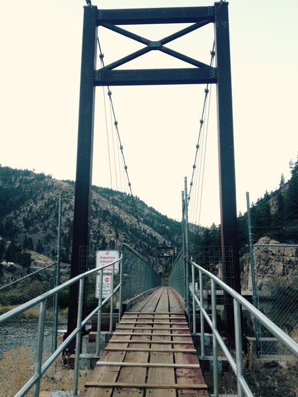 Fleish Bridge. Oct 2, 2015.